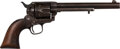 Handguns:Single Action Revolver, 4-Digit 7th Cavalry Custer U.S. Colt Single Action Army Revolver with US Leather Holster....
