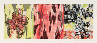 Janis Provisor (b. 1946) Group of Four Works, 1989-99 Woodcuts in colors on wove paper 32-1/2 x 32-1/2 inches (82.6 x...