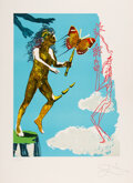 Prints & Multiples, Salvador Dali (1904-1989). Madam butterfly & the dream (two works), 1978. Lithographs in colors on Arches paper. 29-1/2 ... (Total: 2 Items)