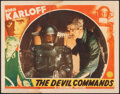 """Movie Posters:Horror, The Devil Commands (Columbia, 1941). Fine+. Lobby Card (11"""" X 14""""). Horror.. ..."""