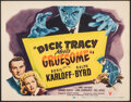 """Movie Posters:Crime, Dick Tracy Meets Gruesome (RKO, 1947). Very Fine. Title Lobby Card (11"""" X 14""""). Crime.. ..."""