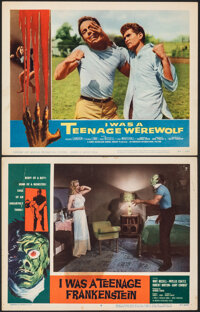 I Was a Teenage Frankenstein & Other Lot (American International, 1957). Overall Grade: Fine+. Lobby Cards (2) (11&q...