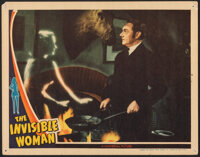 """The Invisible Woman (Universal, 1940). Fine/Very Fine. Lobby Card (11"""" X 14""""). Horror"""