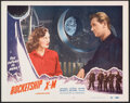 """Movie Posters:Science Fiction, Rocketship X-M (Lippert, 1950). Very Fine+. Lobby Card (11"""" X 14""""). Science Fiction.. ..."""