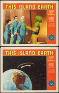 Movie Posters:Science Fiction, This Island Earth (Universal International, 1955). Very Fi...