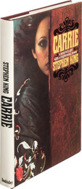 Books:Science Fiction & Fantasy, Stephen King. Carrie. Garden City: Doubleday & Co., Inc., 1974. First edition. Presentation copy, signed and inscr...