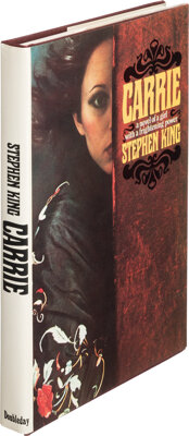 Stephen King. Carrie. Garden City: Doubleday & Co., Inc., 1974. First edition. Presentation