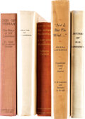 Books:Literature 1900-up, [D. H. Lawrence, subject]. Group of Five Titles about D. H. Lawrence. [Various places, various publishers], 1931-1934. First... (Total: 5 Items)