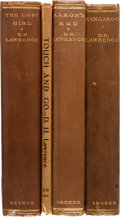 Books:Literature 1900-up, D. H. Lawrence. Group of Four First Editions. Lond...