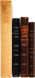Books:Literature Pre-1900, Charles Lamb, Alfred Tennyson, Joseph Conrad. Group of Four Books by British Authors. London: Various publishers, 1802-1923.... (Total: 4 )