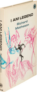 Books:Signed Editions, Richard Matheson. I am Legend. New York: Walker & Co., [1970]. First hardcover edition (second edition overall). Bol...
