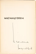 Books:Art & Architecture, Lynd Ward. Madman's Drum. A novel in woodcuts. New York: Johnathan Cape, Harrison Smith, [1930]. First edition. ...