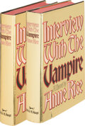 Books:Horror & Supernatural, Anne Rice. Two copies of Interview with the Vampire. New York: Alfred A. Knopf, 1976. First edition. Both signed b... (Total: 2 Items)