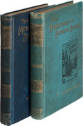 """Books:Mystery & Detective Fiction, A[rthur] Conan Doyle. The Adventures of Sherlock Holmes. London: George Newnes, 1893. Stated """"Second Edition,"""" first... (Total: 2 Items)"""