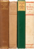 Books:Literature 1900-up, D. H. Lawrence. Group of Four First Editions. London: Martin Secker, [1928-1954].... (Total: 4 Items)