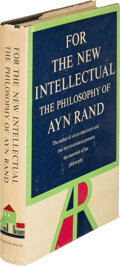 Books:Signed Editions, Ayn Rand. For the New Intellectual. The Philosophy of Ayn Rand. New York: Random House, 1961. First edition, fir...