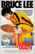 """Movie Posters:Action, Game of Death (Golden Harvest, R-1980s). Rolled, Very Fine+. Hong Kong One Sheet (25.75"""" X 39.75"""") Yuen Tai-Yung Artwork. Ac..."""