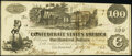 Confederate Notes:1862 Issues, T39 $100 1862 PF-5 Cr. 290 About Uncirculated.. ...