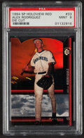 Baseball Cards:Singles (1970-Now), 1994 SP Holoview Alex Rodriguez (Die Cut-Red ) #33 PSA Mint 9....