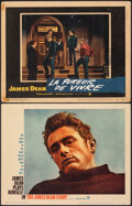 Movie Posters:Documentary, The James Dean Story & Other Lot (Warner Bros., 1957). Fin...
