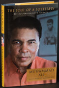 """Movie Posters:Sports, The Soul of a Butterfly by Muhammad Ali (Simon & Schuster, 2002). Very Fine/Near Mint. Signed Hardcover Book (221 Pages, 6"""" ..."""