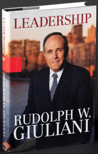 Rudy Giuliani in Time Magazine & Other Lot (Time, 2001). Overall: Very Fine-. Signed Magazines (2) (Multiple Pages...