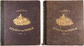 Books:Maps & Atlases, Colton's Atlas of the World. New York: J. H. Colton & Co., 1856. Early edition.... (Total: 2 Items)