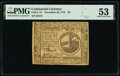 Colonial Notes:Continental Congress Issues, Continental Currency November 29, 1775 $2 PMG About Uncirculated 53.. ...
