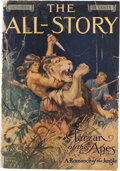 Books:Science Fiction & Fantasy, Edgar Rice Burroughs. Tarzan of the Apes. In The All-Story, Volume XXIV, Number 2, October 1912. New York: Frank...