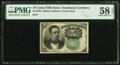 Fractional Currency:Fifth Issue, Fr. 1264 10¢ Fifth Issue PMG Choice About Unc 58 EPQ.. ...