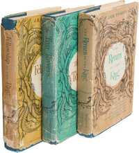 J. R. R. Tolkien. The Lord of the Rings Trilogy. Boston: Houghton Mifflin Co., 1963. First Amer