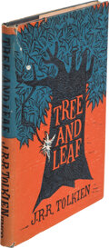 Books:Signed Editions, J. R. R. Tolkien. Tree and Leaf. Boston: Houghton Mifflin Co., 1965. First American edition, first printing. Signe...