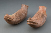 A Pair of Pre-Columbian Effigy Vessels... (Total: 2)