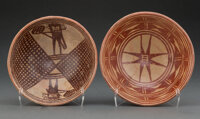 Two Pre-Columbian Red-On-Cream Bowls... (Total: 2)