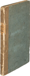 Books:Literature Pre-1900, Elizabeth Barrett Browning. An Essay on Mind, with Other Poems. London: James Duncan, 1826. First edition, mixed...