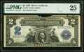 Large Size:Silver Certificates, Fr. 256 $2 1899 Silver Certificate PMG Very Fine 25.
