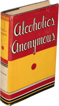 Books:Medicine, [Bill Wilson]. Alcoholics Anonymous. The Story of How More than Two Thousand Men and Women Have Recovered from Alc...