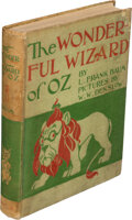Books:Children's Books, L. Frank Baum. The Wonderful Wizard of Oz. Chicago: Geo. M. Hill, 1900. First edition, first state of plates and tex...