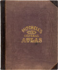 Books:Maps & Atlases, S[amuel] Augustus Mitchell Jr. Mitchell's New General Atlas. Containing maps of the various countries of the world...