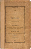 Books:Americana & American History, William Darby. Memoir on the Geography, and Natural and Civil History of Florida, Attended by a Map of That Countr...