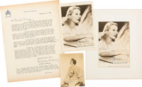 Gertrude Lawrence. Archive of Materials Mainly Related to the Biographical Film, Star! [Various