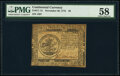 Colonial Notes:Continental Congress Issues, Continental Currency November 29, 1775 $5 PMG Choice About Unc 58.. ...