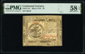 Colonial Notes:Continental Congress Issues, Continental Currency May 9, 1776 $5 PMG Choice About Unc 58 EPQ.. ...