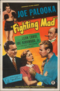 """Movie Posters:Sports, Fighting Mad (Monogram, 1948). Folded, Fine+. One Sheet (27"""" X 41"""") & Photos (2) (8"""" X 10.25""""). Sports.. ... (Total: 3 Items)"""