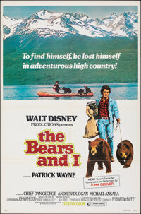 """The Bears and I & Other Lot (Buena Vista, 1974). Folded, Very Fine. One Sheets (2) (27"""" X 41"""") Paul Wenzel..."""