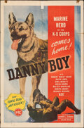 """Movie Posters:Adventure, Danny Boy & Other Lot (PRC, 1946). Folded, Fine. One Sheets (2) (27"""" X 41""""). Adventure.. ... (Total: 2 Items)"""