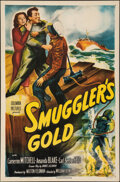 "Movie Posters:Crime, Smuggler's Gold (Columbia, 1951). Folded, Very Fine-. One Sheet (27"" X 41""). Crime.. ..."