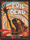 """Movie Posters:Horror, The Evil Dead (A.M. Films, 1983). Folded, Very Fine-. French Grande (45.75"""" X 62"""") C. Lalande Artwork. Horror.. ..."""