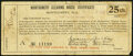 Obsoletes By State:Alabama, Montgomery, AL- Montgomery Clearing House Certificate 25¢ Nov. 15, 1907 Shafer Al 930-.25b Fine.. ...