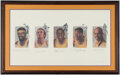 """Autographs:Others, Los Angeles Lakers """"Legends"""" Multi-Signed Lithograph...."""